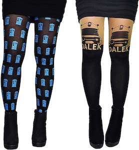 Dalek And Tardis Tights