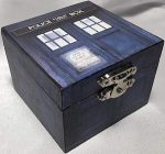 Doctor Who Tardis Ring Box