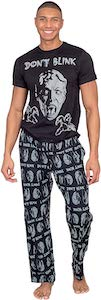 dr. who Don't Blink Weeping Angel Pajama Set