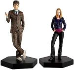 Rose And The 10th Doctor Figurine Set