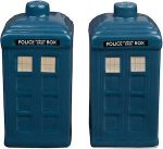 Doctor Who Tardis Salt And Pepper Shaker Set