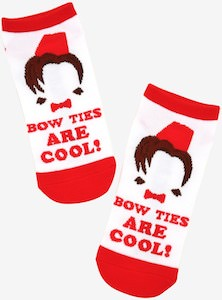 11th Doctor Bow Ties Are Cool! Socks