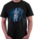 Doctor Who The 4th Doctor And The Tardis T-Shirt