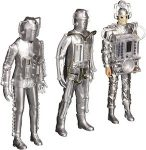 Doctor Who Cyberman 3 Generations Figurines