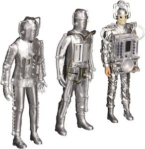 Cyberman 3 Generations Figurines