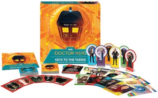 Keys Of The Tardis Board Game