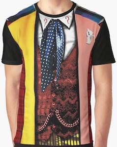 6th Doctor Costume T-Shirt
