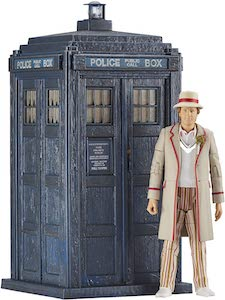 5th Doctor And The Tardis Figurine