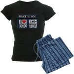Doctor Who I Love The Doctor Women's Pajama Set