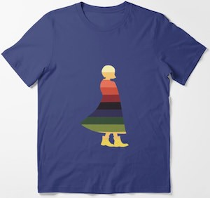 13th Doctor Silhouette T-Shirt
