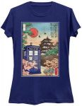 Doctor Who The Tardis In Japan T-Shirt