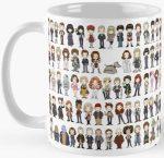 Doctors And Friends Mug buy your Doctor Who mug