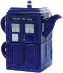 Tardis Tea Pot And Mug