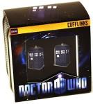 Doctor Who 3D Tardis Cufflinks