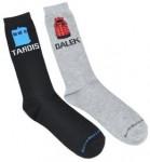 Doctor Who Tardis And Dalek Socks