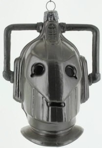 Cyberman Christmas Ornament