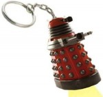 Doctor Who Red Dalek Key Chain And Flashlight