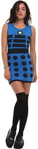 dr. Who Blue Dalek costume Dress