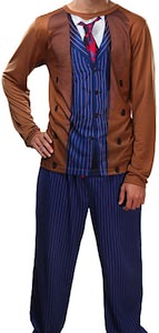David Tennant 10th Doctor Costume Pajama Set
