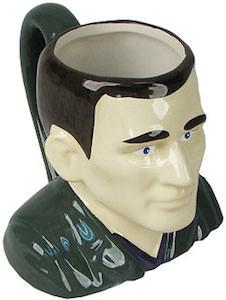 9th Doctor Bust Mug