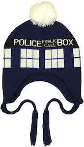 Shop Doctor Who for a Tardis Laplander Beanie Hat
