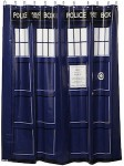 Dr. Who Tardis Shower Curtain
