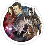 11th Doctor Friends And Enemies Sticker