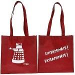 Doctor Who Red Dalek Tote Bag