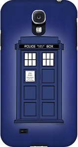 Doctor Who Tardis Samsung Galaxy And iPhone Case