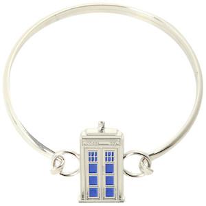 Dr. Who Tardis bangle bracelet