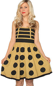 Dr. Who Gold Dalek Dress