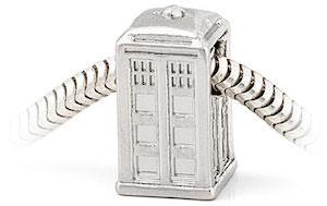 Dr. Who Tardis Charm For Charm Bracelet