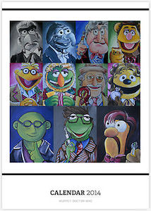 Doctor Who Muppets Calendar