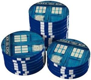 Dr Who Tardis Poker Chips