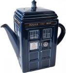 Dr. Who Tardis Ceramic Teapot