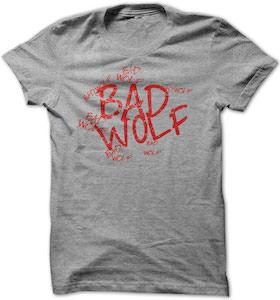 Dr. Who Bad Wolf Graffiti T-Shirt
