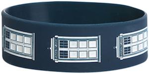Dr. Who Tardis Rubber Wristband