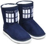 Doctor Who Tardis Slipper Boots
