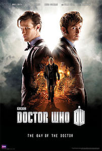 Dr Who The Day Of The Doctor Poster