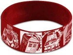Doctor Who Comic Style Wristband