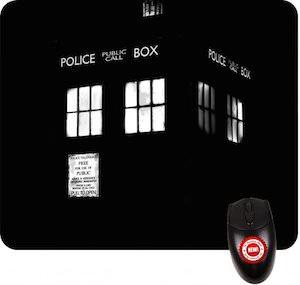 Doctor Who Tardis mousepad