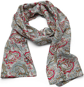 Dr. Who 7th Doctor Silk Scarf