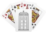 Doctor Who Tardis Playing Cards