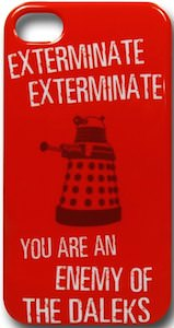 Doctor Who Red Dalek iPhone Case