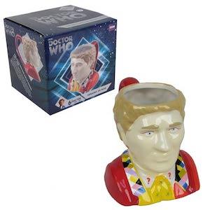 Doctor Who 6th Doctor Bust Mug