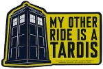 Doctor Who My Order Ride Is A Tardis Car Magnet