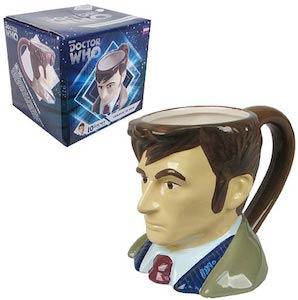 Dr. Who 10th Doctor Bust Mug