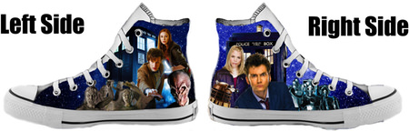 Doctor Who Converse All Star Shoes