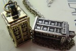 Doctor Who Tardis 3D Pendant Necklace