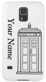 Doctor Who Tardis Samsung Galaxy S5 Phone Case